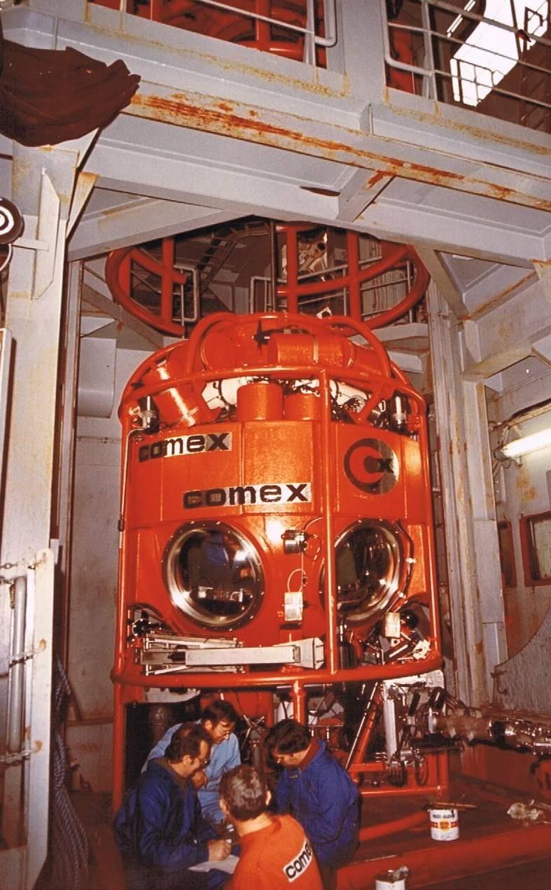 Saturation diving equipment manufacturer France - Comanex