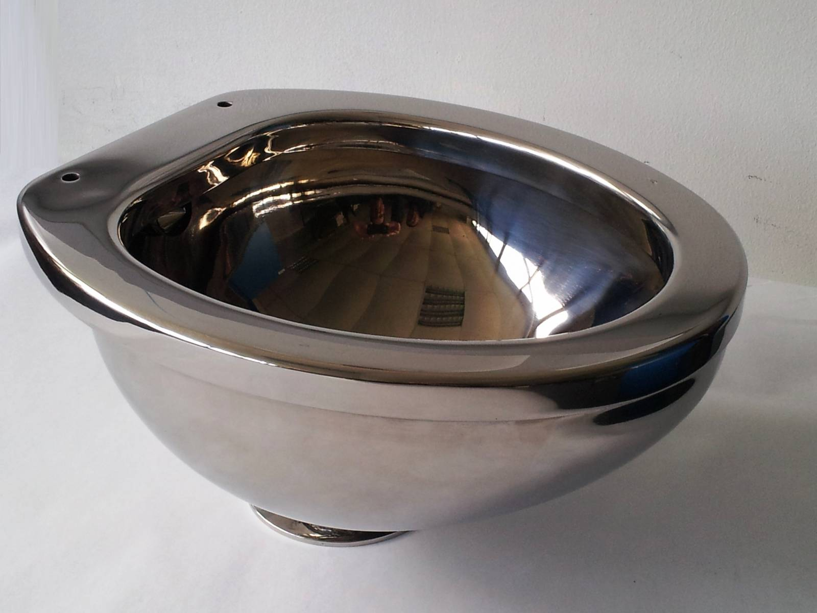 Stainless Steel Toilet Bowl