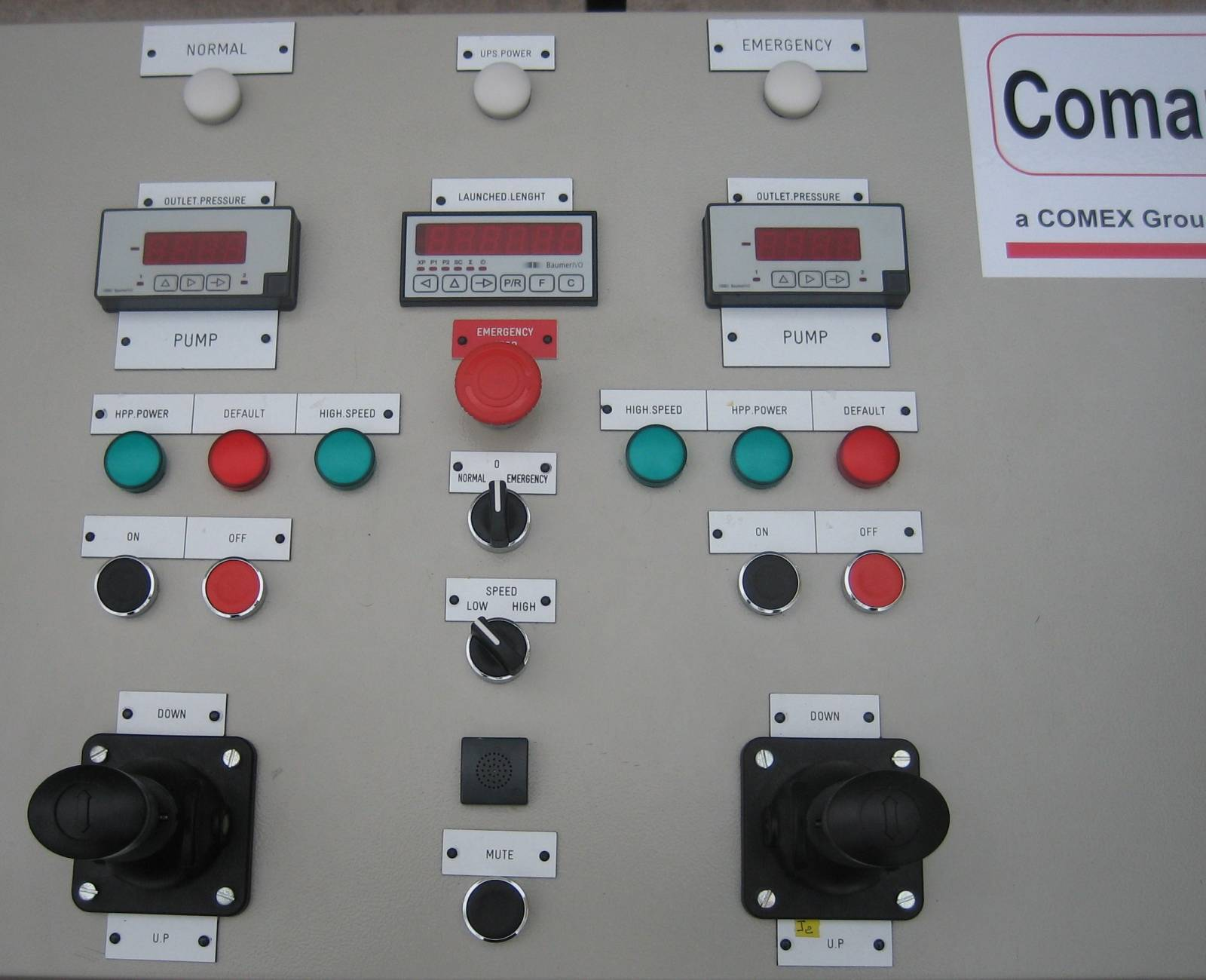 Handling Systems Control Stand
