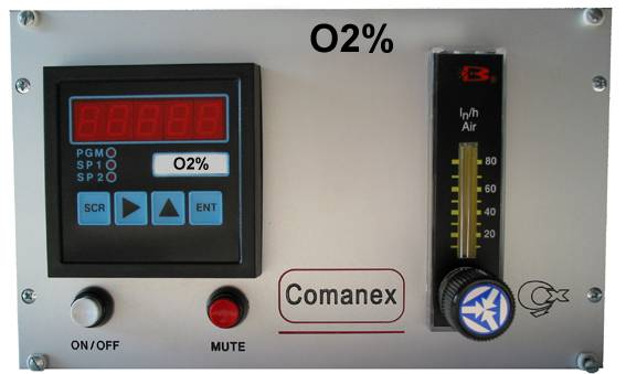 Paramagnetic O2 Analyzer