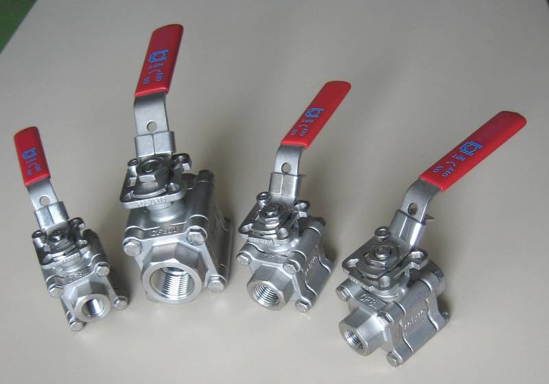 125 Bar SS Ball Valve