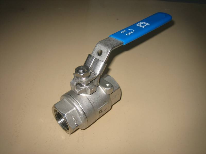 63 Bar Monobloc Ball Valve